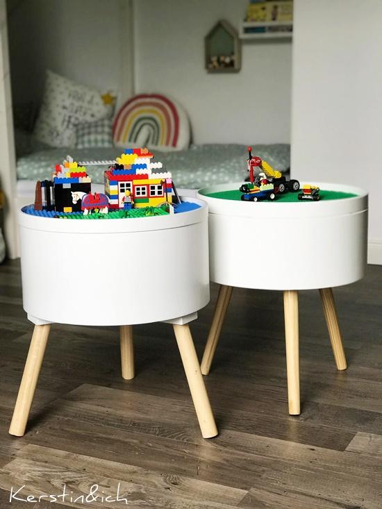 Spieltisch Kinder DIY Lego Kinderzimmer Spielzeug Selbermachen