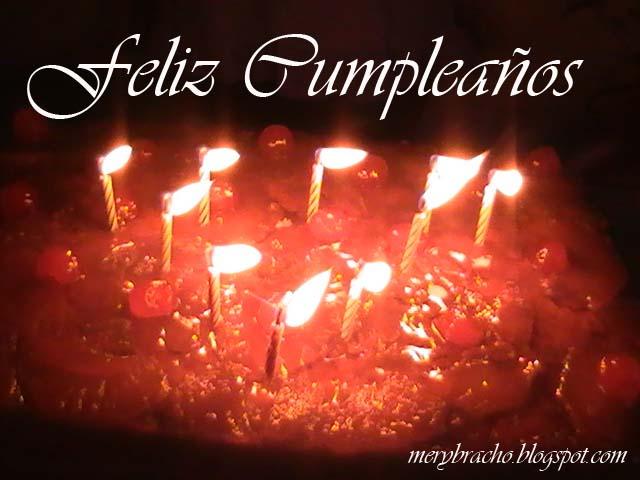 imagen de torta con velas en cumpleaños frases cristianas bonitas