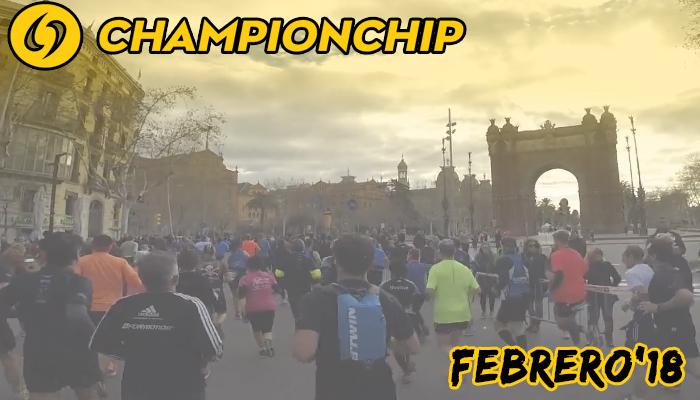 Lliga Championchip 2018 - Febrero