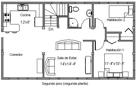 planos de casas pequenas para imprimir - Planos De Casas