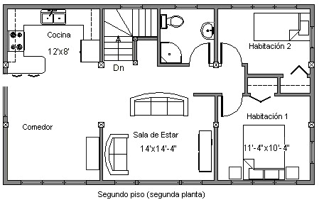 Planos de casas de dos pisos para colorear for Como dibujar un plano de una casa