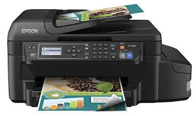 Powered by PrecisionCore printing technology  Epson EcoTank ET-4550 Driver Downloads