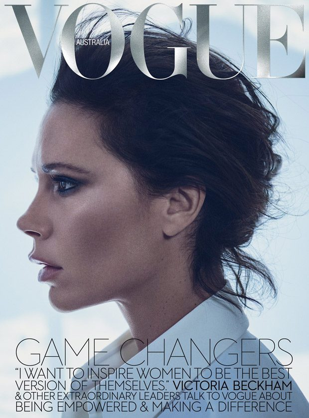 Victoria Beckham features on the Vogue Australia November 2016 cover