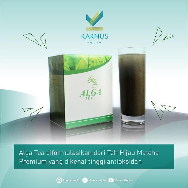 Dosis minum Alga Tea yang tepat