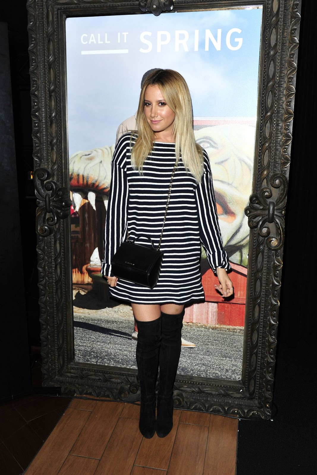Ashley Tisdale at Call It Spring Hosts Private Event at Staples Center in Los Angeles