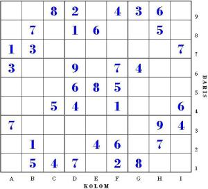 How to Play Sudoku Game for Beginners, Tips and Trick 2