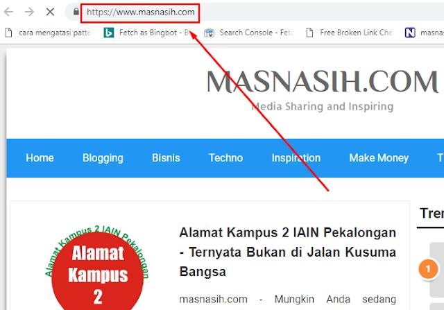 contoh alamat url website portal