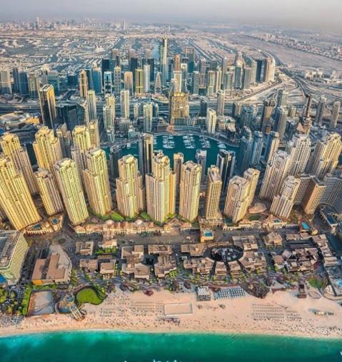 Kota Dubai Uni Emirates Arab