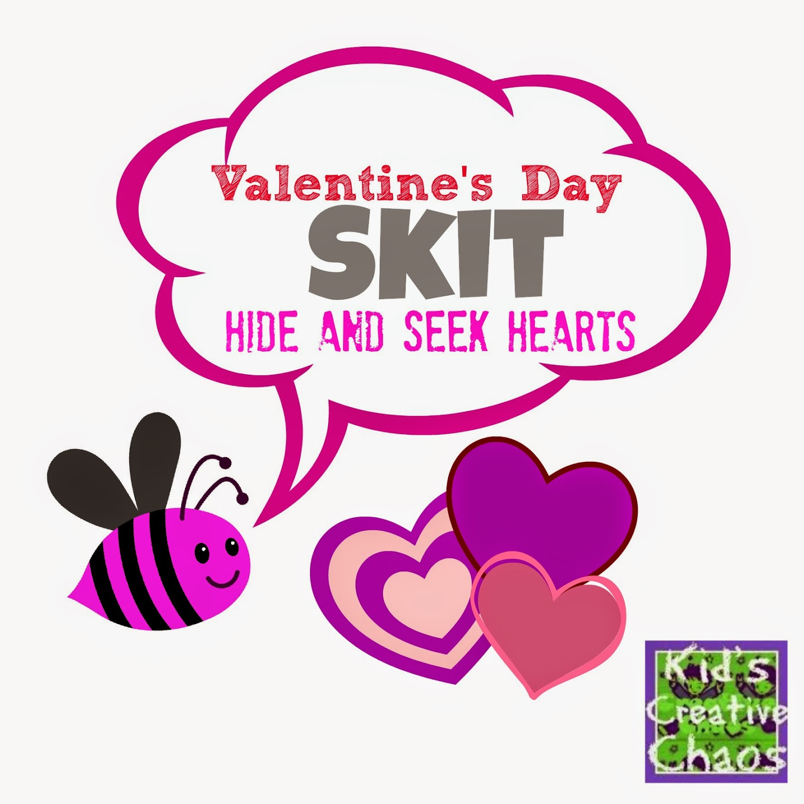 Valentine S Day Skit For Kids Hide And Seek Hearts
