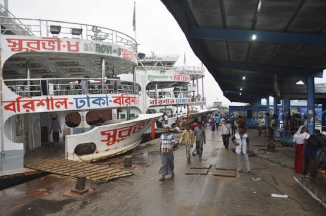 30-vessels-in-the-Barisal-Dhaka-route