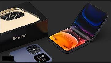 أبل تعمل علي تصنيع هاتف جديد قابل للطي IPHONE 13 FOLD