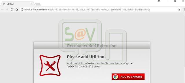 Install.utilitooltech.com pop-ups
