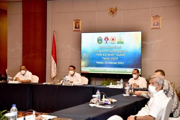 Menpora RI Apresiasi Sumut dan Aceh Yang Sudah Siap Untuk Menjadi Tuan Rumah Penyelenggaraan PON XXI 2024