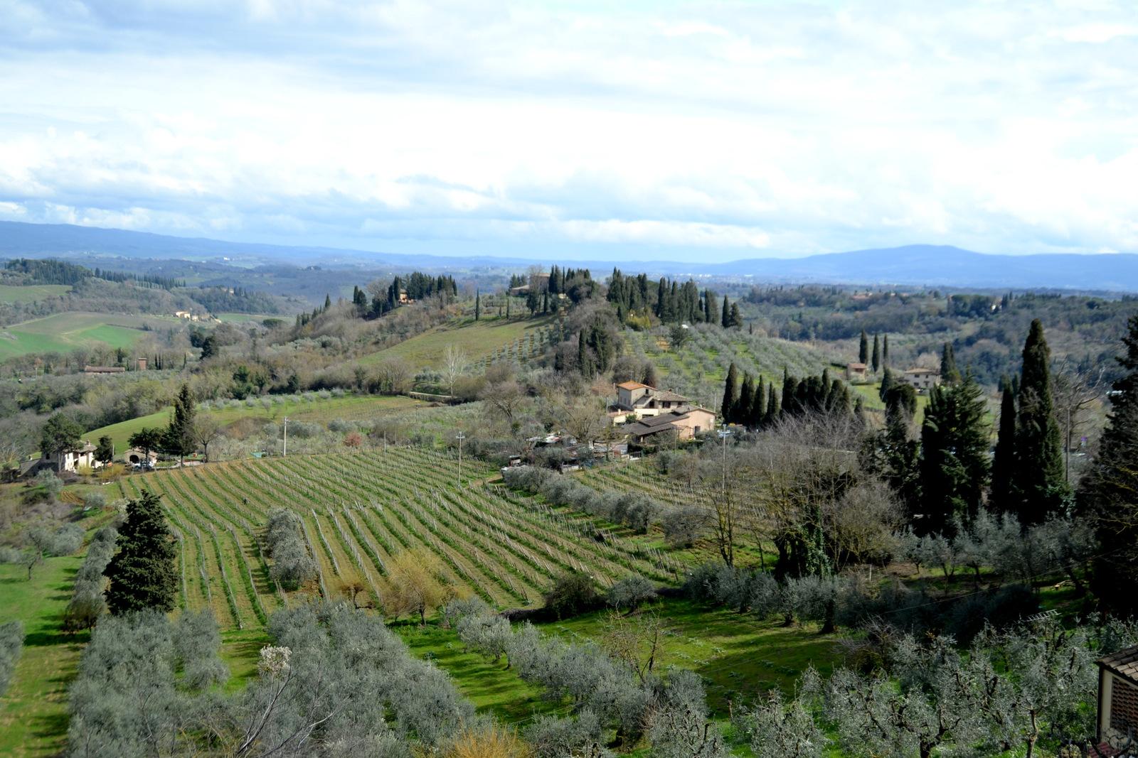 Veľká Noc 2018 - 3. deň // Volterra, San Gimingano, Monteriggioni