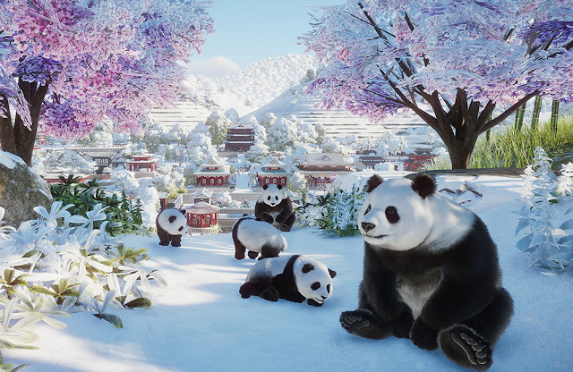 planet zoo panda