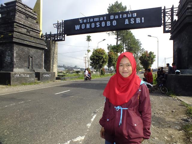 Gerbang Masuk Kota Wonosobo | Kledung Pass | Puncak Kledung Pas