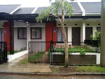 bentuk model pagar minimalis rumah type 45