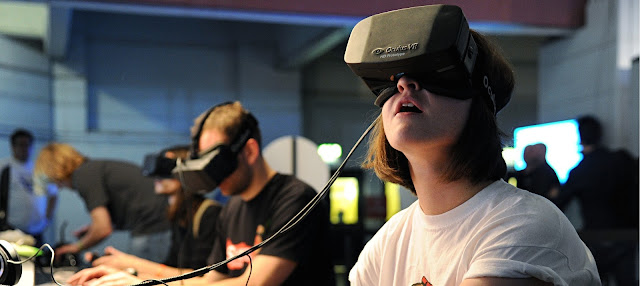 Virtual reality games experience