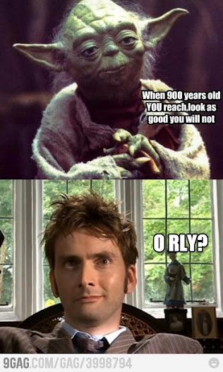 Yoda vs. Dr. Who