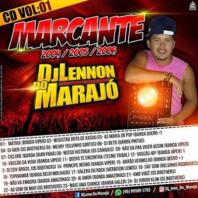 CD MELODY MARCANTE ( DJ LENO DO MARAJÓ A MORAL DE MACAPÁ ) ( WWW.RESUMODOMELODY.COM ) ABRIL 2017