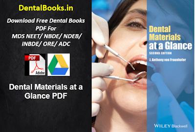 Dental Materials at a Glance PDF
