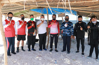 Kapolda Sulsel Dampingi Gubernur Saat Kunjungan di Pulau Lanjutkan