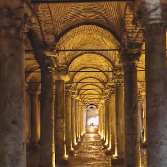 Sejarah Basilica Cisterns Di Bawah Bumi Turki