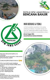PATELKI DPW JAWA BARAT PEDULI BANJIR