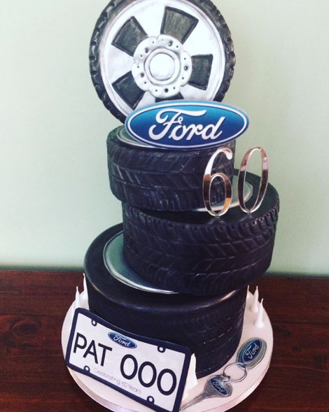 Cakes for the Husband Who Loves Cars