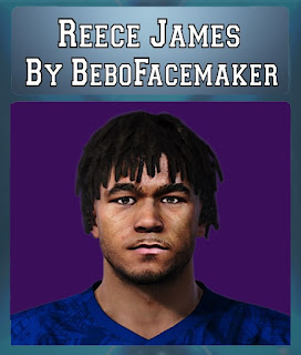 PES 2020 Faces Reece James by Bebo