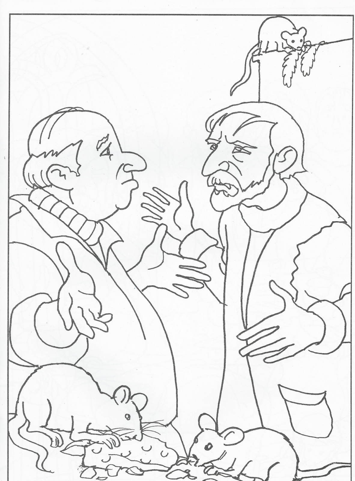 V Vendetta Coloring Pages