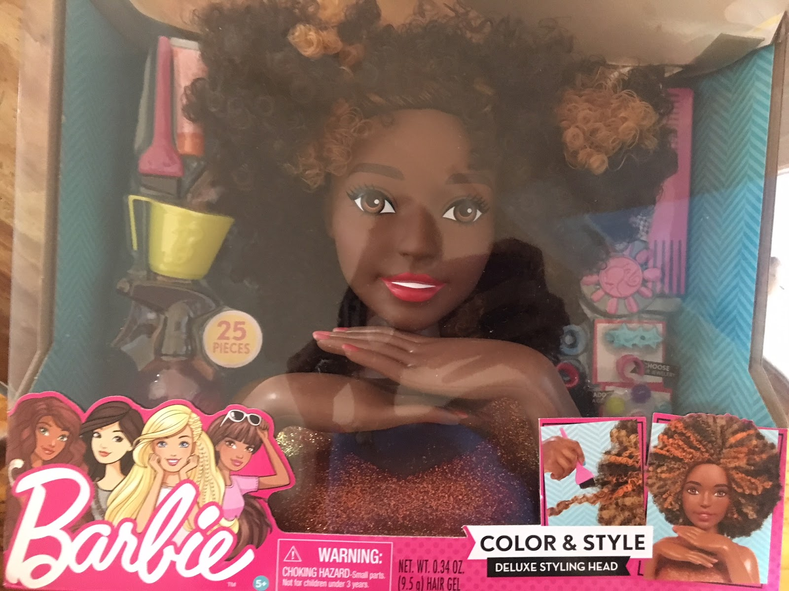 The Mattel Barbie Styling Head Is Now Available Here S How To Get It Curlynikki Natural Hair Care