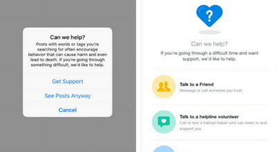 Instagram launched a feature to prevent users from becoming addicted to drugs.