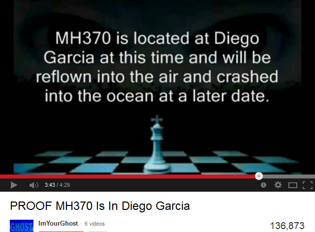 PROOF MH370 Is In Diego Garcia