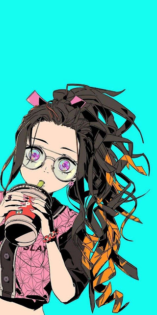 nezuko kamado demon slayer kawai girl