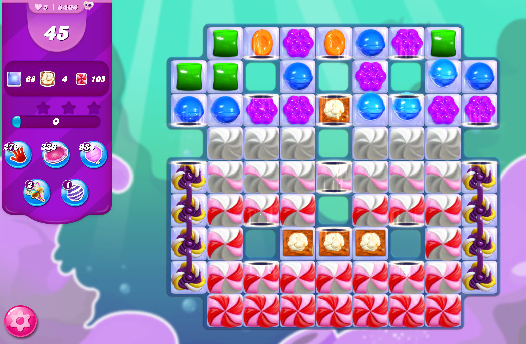 Candy Crush Saga level 8404