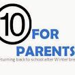 10 Things for parents to consider before children go back to school after Winter break