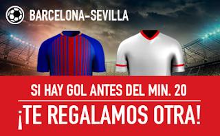 sportium promocion Barcelona vs Sevilla 4 noviembre