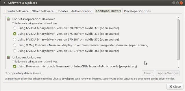 Ubuntu Drivers