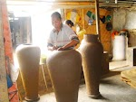 Proses Membuat Gerabag Lombok Desa Banyumulek
