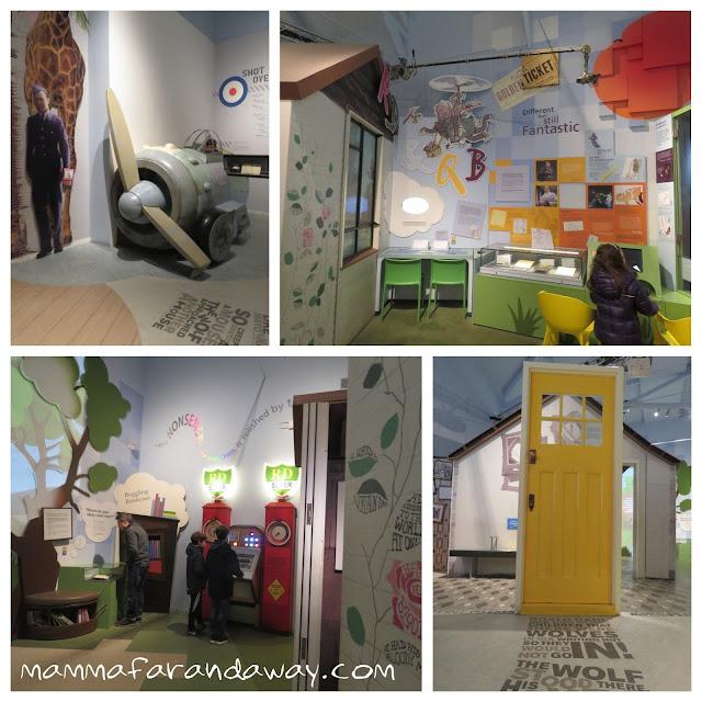 roald Dahl museo per bambini