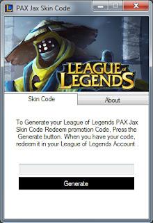 League of Legends PAX Jax Skin