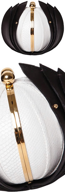 Brilliant Luxury ♦ Marzook Pearl sphere clutch bag