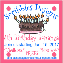 Scribbles Designs is turning 4!!!