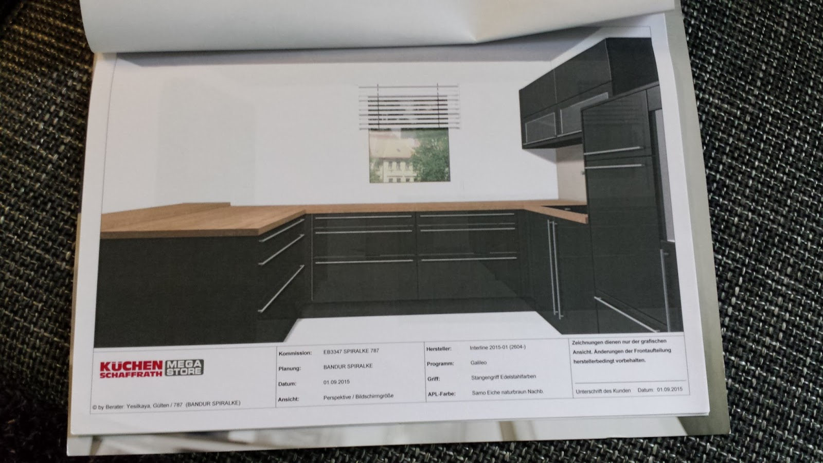 Unser Projekt Eigenheim : Küchenkauf