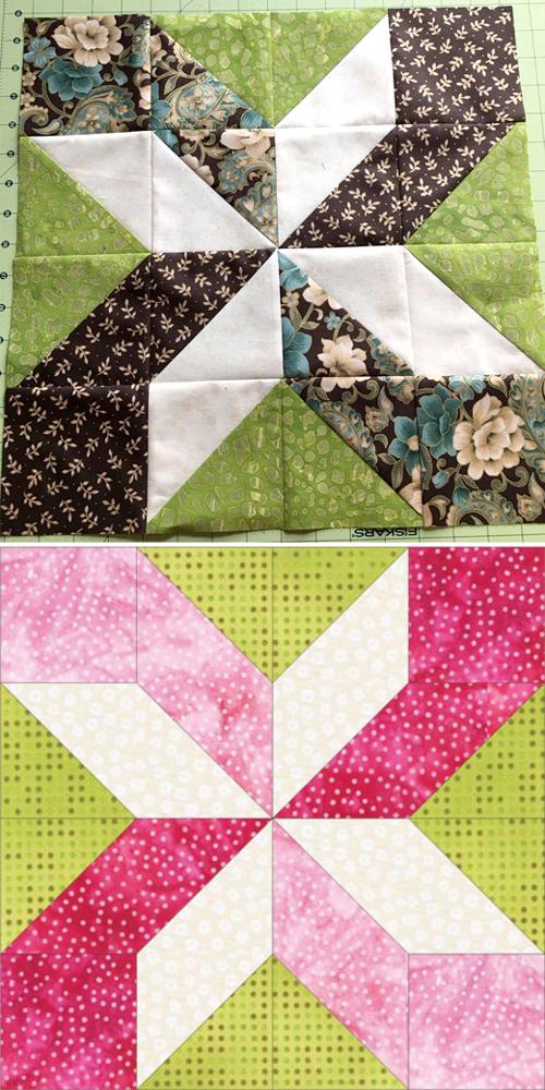 "Stargaze 8"" Block Quilt Pattern"