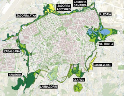 que es Anillo Verde de Vitoria Gasteiz