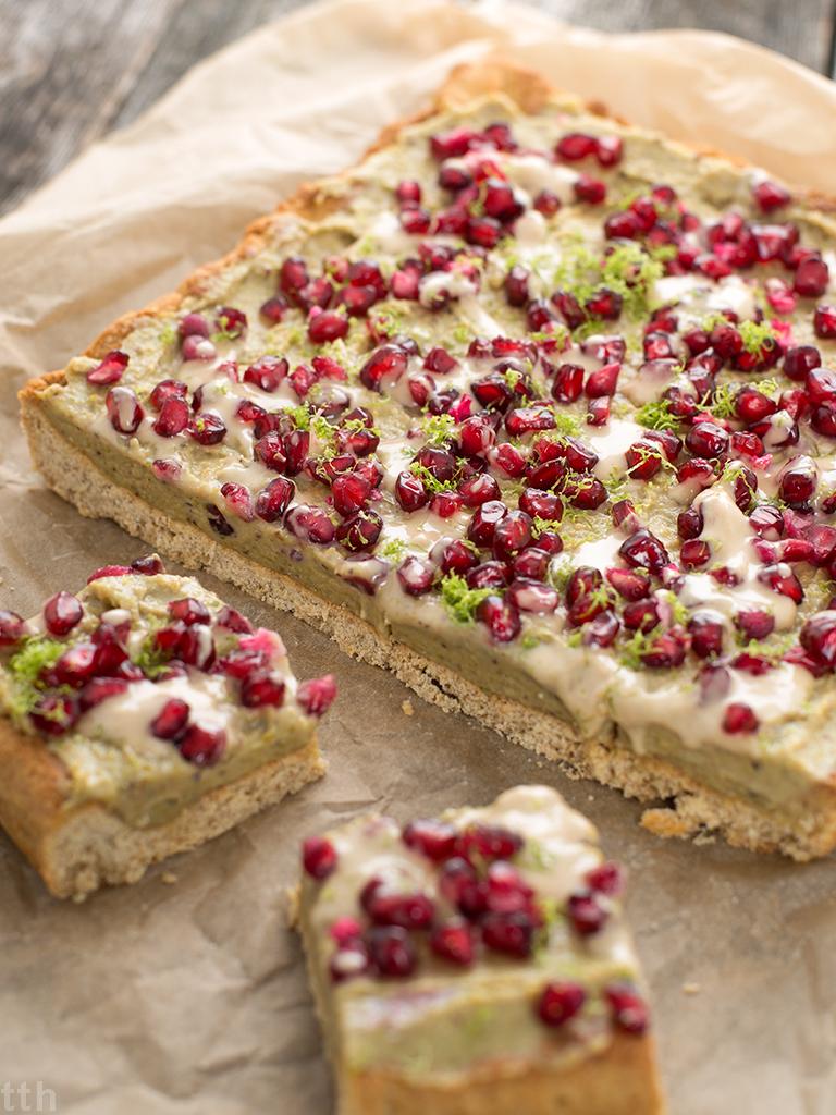 Mazurek pistacjowy - przepis (weganskie, bezglutenowe, bez cukru)