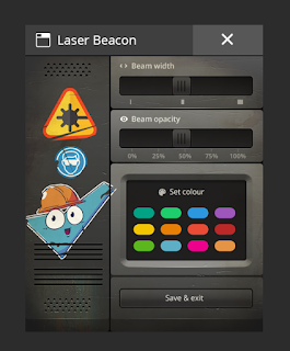 Laser Beacons