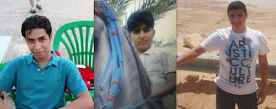 Sentenced to death: Ali al-Nimr, Abdullah al-Zaher, Dawood al-Marhoon